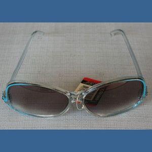vintage Foster Grant sunglasses w/light blue trim